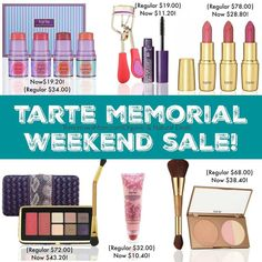 LAST HOURS ALMOST OVER I've rounded up the best deals for you. click the  link in my bio @tomorrowsmom -read . .Tarte Cosmetics are cruelty free some vegan and ALWAYS FORMULATED WITHOUT: parabens  mineral oil  phthalates  triclosan  sodium lauryl sulfate  gluten #tomorrowsmom .  #frugal #savings #deals #cosmicmothers #feminineenergy #loa #organic #fitmom #health101 #change #nongmo #organiclife #crunchymama #organicmom #gmofree #organiclifestyle #familysavings #frugal #healthyhabits…