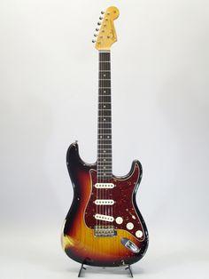 FENDER CUSTOM SHOP[フェンダーカスタムショップ] Master Built 1960 Stratocaster 3CS Relic Built by John Cruz 詳細写真