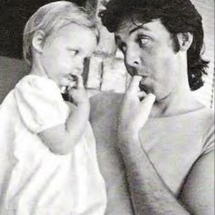 Stella & Paul :) photographed  by Linda McCartney