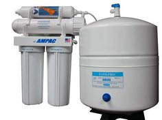 Reverse osmosis (RO) is becoming a common home treatment method for contaminated drinking water