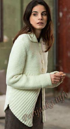 Lang Yarns - Fatto a Mano 225 by Woolmarket - issuu Knit Jacket, Sweater Jacket, Knit Cardigan, Lang Co, Lang Yarns, Boho Diy, Rubrics, Knitwear, Free Pattern