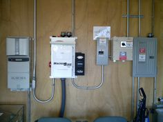 MCC, Hybrid Grid tied / off-grid system with  battery backup.