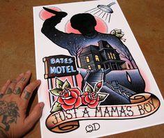 Resultado de imagem para bates motel tattoo