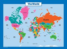 Zebra Talk Scratch World Map,Deluxe Edition