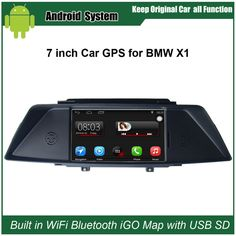 Upgraded Original Car Radio Player Suit to Bmw X1 E84 Car Video Player Built in WiFi GPS Navigation Bluetooth