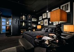 Tomas-Frenes-Residential-Gothic-Bedroom