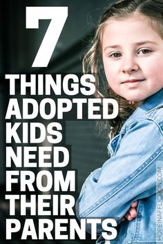 Adopted kids have many needs. Adoptive parents need to know and be sensitive to those needs, so they can help their child thrive. If you are an adoptive parent, learn 7 things an adopted child needs most from his or her parents. Foster Care Adoption, Foster To Adopt, Foster Mom, Foster Family, Adopting Older Children, Adopting A Child, Raising Kids, Foster Parenting, Kids And Parenting