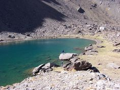 Laguna larga #sierranevada #mountains