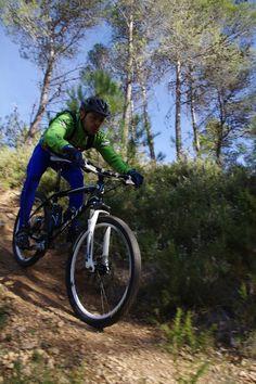 Un dia de Training en bici