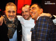 Ramón Freixa, Sergi Arola y David Muñoz