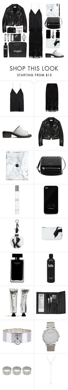 """""""FASHION WEEK IS APPROACHING"""" by mimiih ❤ liked on Polyvore featuring Haider Ackermann, MuuBaa, H&M, Yves Saint Laurent, Givenchy, Giorgio Armani, Fendi, Narciso Rodriguez, CO and Chanel"""