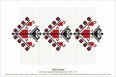 Creative Embroidery, Folk Embroidery, Cross Stitch Embroidery, Embroidery Patterns, Knitting Patterns, Cross Stitch Borders, Simple Cross Stitch, Cross Stitch Charts, Beading Patterns