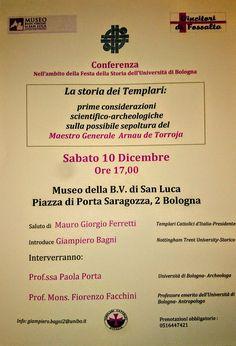 """Italia Medievale: """"La storia dei Templari"""" a Bologna"""