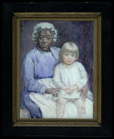 Mary and Mammy by Sarah Eakin Cowan / American Art