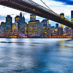 Just a shot of the Brooklyn Bridge.