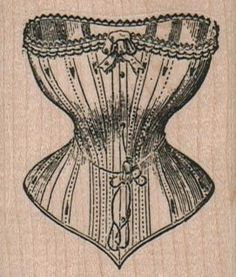 New to on Etsy: large stamp corset wood mounted rubber stamp number 2390 USD) Renaissance Corset, Victorian Corset, Scrapbook Supplies, Craft Supplies, Steampunk Theme, Steampunk Corset, Handmade Scrapbook, Wood Stamp, Paper Cards