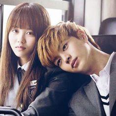 Kim So Hyun & Yook Sung Jae Torcia pra eles ficarem juntos no final Hi School Love On, Who Are You School 2015, Korean Actresses, Korean Actors, Actors & Actresses, Korean Dramas, Yongin, Sungjae Btob, Kim Sohyun