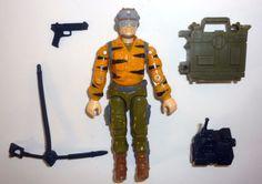 GI Joe 1988 Tiger Force TIGER RAT Renegade Missile
