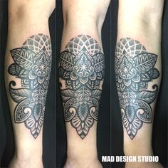 mandala tattoo dot work