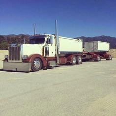 Peterbilt custom 379 transfer dump
