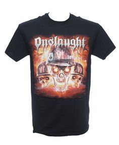 Onslaught - Chaos Heavy Metal Fashion, Metal Shirts, Menswear, Mens Tops, How To Wear, T Shirt, Style, Supreme T Shirt, Swag