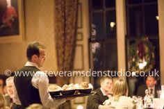 Silver service, Samuels Restaurant, Swinton Park