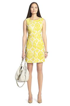in Canary Yellow/ White