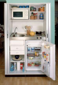 And Chic Mini Kitchen Design Efficient  Home Ideas  Pinterest Amusing Mini Kitchen Designs Review