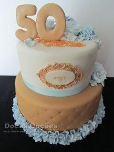 Doces Opções: Bolo para o 50º aniversário da Graça