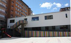 Escuela infantil, Valladolid. Joaquín López Vaamonde.