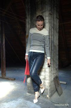 Oceanblue Style : Best of Nautical #2: Ringelpullover mit Jeans oder Lederhose