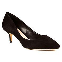 "Vince Camuto ""Goldie 2"" Suede Kitten Heel at HSN.com. #HSN"