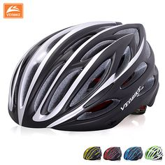 VEOBIKE Casco Ciclismo MTB Bike Cycling Helmet Bicicleta Capacete Ultralight Integrally-Molded EPS+PU Bicycle Unisex Helmet