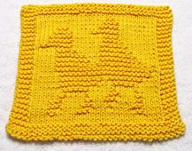 Ravelry: BABY DUCKS Cloth pattern by Ezcareknits