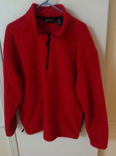 EBTek Men's Fleece Top Size M #EddieBauer #Pullover