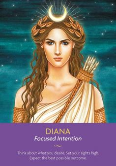 Move forwards with unwavering faith, knowing that the universe is supporting you. Diana is helping you awaken your divine ability to manifest what you deserve. Any fear is only a reminder that whatever you are working on or through is an important issue for your growth.  http://www.healyourlife.com/oracle-cards/simple-reading/19839