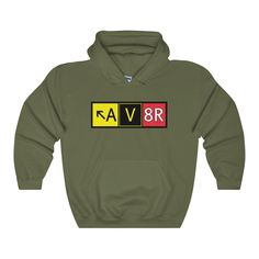 AV8R Unisex Heavy Blend™ Hooded Sweatshirt – PotatoCandy Potato Candy, Hooded Sweatshirts, Hoods, Unisex, Sweaters, Fashion, Moda, Cowls, Fashion Styles