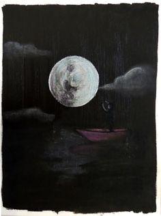 """Saatchi Online Artist Rachel Cross; Painting, """"Moonshine"""" #art"""