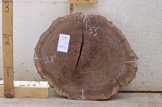 3794x1 - Claro Walnut Burl Wood Slab. Natural Edge Side Table, End table, Tabletop, Coffee Table, Wall Art.  BerkshireProducts.com
