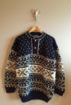 Heavy Wool// Like Cowichan-Style Sweaters by AylasFineGoods