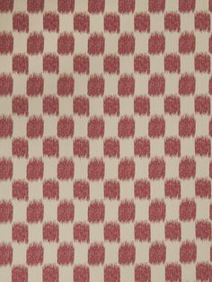 Ikat check pattern 02604 in Redbud from the Jaclyn Smith Home - Volume III collection for Trend.