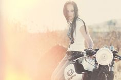 Michelle's Suzuki GS450 Cafe Racer ~ Return of the Cafe Racers