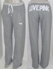 Victoria's Secret LOVE PINK gray Comfy Boyfriend Fit Sweatpants! Like the butt! Comfy Pants, Leggings Are Not Pants, Lounge Pants, Lounge Wear, Sweat Pants, Yoga Pants, Lazy Day Outfits, Cute Outfits, Pink Outfits