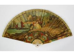 Cantonese Chinese Fan with English Scene