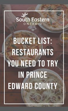 With so many delicious spots to check out, it can seem impossible to try them all! We've put together a list of the top spots to help you taste the best of Prince Edward County. Prince Edward County Ontario, Ontario Travel, Canadian Travel, Serious Business, Destinations, Weekend Trips, Places To Go, Bachelorette Ideas, Camper Life