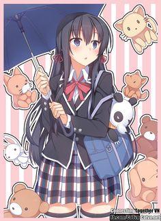 Yukinoshita Yukino - Một cái tên đã quá nổi tiếng với những ai yêu thích Anime, đặc biệt là các fan hâm mộ của Yahari Ore no Seishun Love Come wa Machigatte
