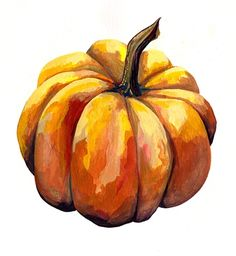 Read CHAPITE 17 : UN NOEL AU PIED LEVE from the story Un léger contre-temps by jemjoclub with 115 reads. Fruit Painting, Autumn Painting, Autumn Art, Watercolour Painting, Painting & Drawing, Watercolors, Pumpkin Drawing, Pumpkin Art, Pumpkin Squash