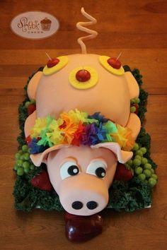 Luau Pig Cake