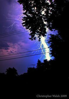 Lightning Fire From The Sky | FIRE IN THE SKY / lightning