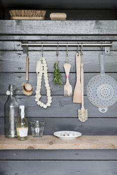 Part of an Outdoor kitchen.